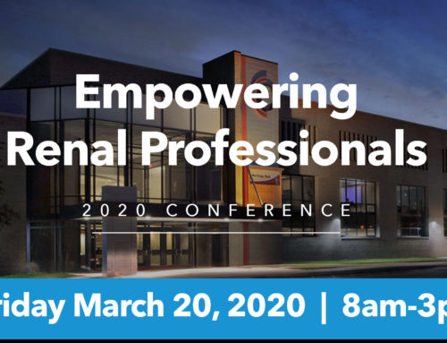 Registration Now Open for the Empowering Renal Professionals 2020 Conference