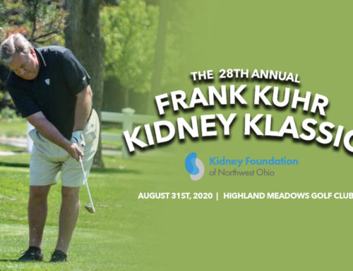 Save the Date: 28th Annual Frank Kuhr Kidney Classic