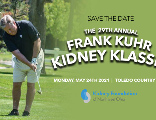 Save the Date: 29th Annual Frank Kuhr Kidney Classic